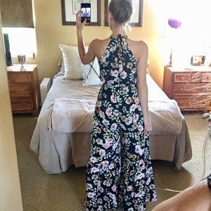 Lulu's Dresses - Lulu's JACK BB Dakota Wide Bell Leg Jumpsuit Small